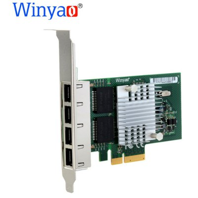 Winyao WYI350 - T4 10 / 100 / 1000Mbps Ethernet Network Card