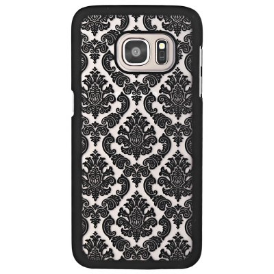PC Protective Case Cover Classic Flower Pattern for Samsung S7