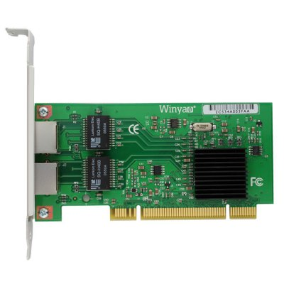 Winyao WY546T2 10 / 100 / 1000Mbps Ethernet Network Card