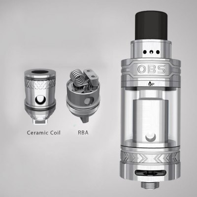 Original OBS ACE Tank Atomizer with 0.45ohm ICC / RBA Coil Head