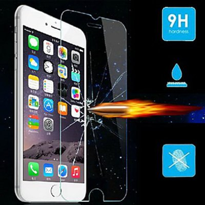 Practical 9H Hardness Tempered Glass Screen Protector for iPhone 6S / 6 4.7 inch Screen benks magic kr pro 0 15mm 3d curved tempered glass screen protector for iphone 6s plus 6 plus full cover white