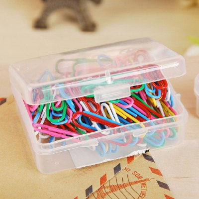 Deli 0024 Metal Colorful Paper Clips 100PCS / BoxNotebooks &amp; Pads<br>Deli 0024 Metal Colorful Paper Clips 100PCS / Box<br><br>Brand: Deli<br>Material: Metal<br>Package Contents: 1 x Box of Paperclip (100PCS), 1 x Storage Box<br>Package size (L x W x H): 9.00 x 7.00 x 2.00 cm / 3.54 x 2.76 x 0.79 inches<br>Package weight: 0.0350 kg<br>Product size (L x W x H): 2.80 x 0.90 x 0.10 cm / 1.1 x 0.35 x 0.04 inches<br>Product weight: 0.0050 kg
