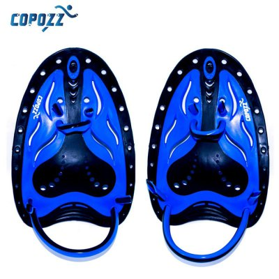 COPOZZ Professional Webbed Gloves Silicone Hand PaddleSwimming<br>COPOZZ Professional Webbed Gloves Silicone Hand Paddle<br><br>Color: Blue,Yellow<br>Gender: Unisex<br>Lingerie Category: Swimwear<br>Material: Silicone<br>Package Contents: 2 x Webbed Gloves<br>Package size (L x W x H): 25.00 x 16.00 x 3.00 cm / 9.84 x 6.3 x 1.18 inches<br>Package weight: 0.210 kg<br>Product weight: 0.150 kg<br>Size: L,S