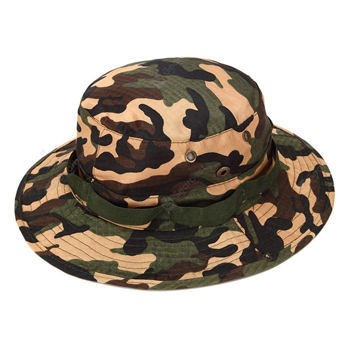 AOTU Camouflage Color Boonie Hat for Outdoor Camping