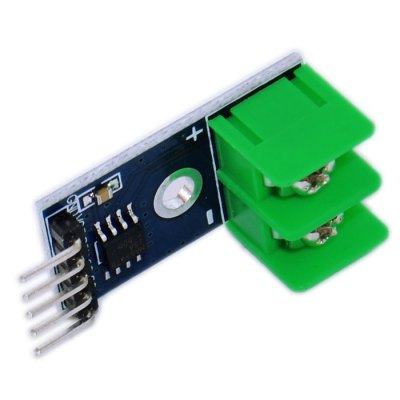 MAX6675 Type K Thermocouple Temperature Sensor Module with Three Serial Interface