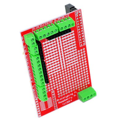 2PCS Practical DIY Prototyping Expansion Board Plate with I O Port for Raspberry Pi B+