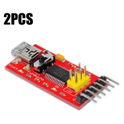 2PCS FT232 FTDI Basic Program Downloader Module
