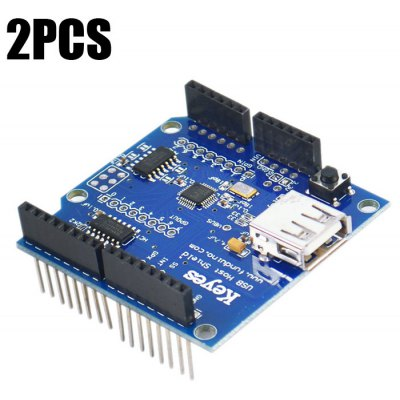 2PCS Keyestudio USB Host Shield Expansion Board for Google / Android
