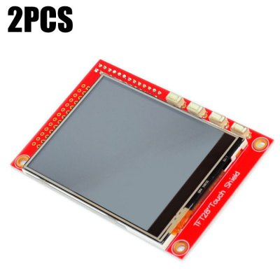 2PCS 2.8 inch Screen Board Resistive Touch Shield 320 x 240 for Raspberry Faction B+ / B