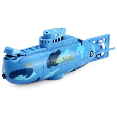 CREATE TOYS NO.3311 Sea Wing Star 40MHz 3CH RC Racing Submarine with Water Resistance Transmitter