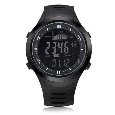 Spovan SPV709 Multifunctional Fishing WatchOther Camping Gadgets<br>Spovan SPV709 Multifunctional Fishing Watch<br><br>Color: Black,Black + White<br>Package Contents: 1 x Spovan SPV709 Multi-function Fishing Watch, 1 x Case, 1 x English Manual<br>Package Size(L x W x H): 11.00 x 9.00 x 8.20 cm / 4.33 x 3.54 x 3.23 inches<br>Package weight: 0.162 kg<br>Product Size  ( L x W x H ): 5.10 x 4.75 x 1.50 cm / 2.01 x 1.87 x 0.59 inches<br>Product weight: 0.066 kg