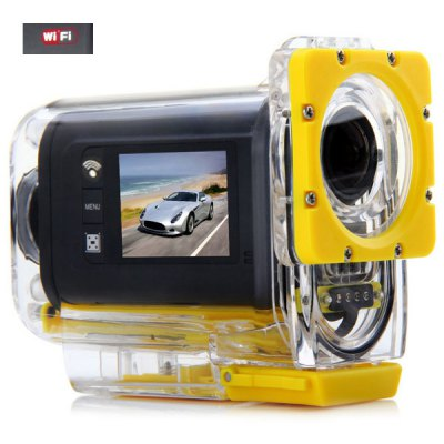 SJ3000 WIFI 1080P FHD 1.5 Inch Action Helmet Camera Sport DV with Charger and Bracket 30M Waterproof