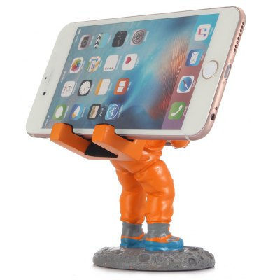 Spaceman Pattern Mobile Phone Stand