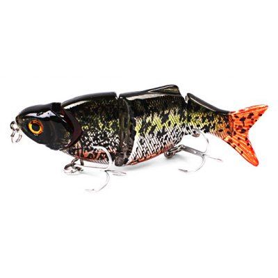 LURE Osprey Minnow Multi Section Fishing Bait with Hooks