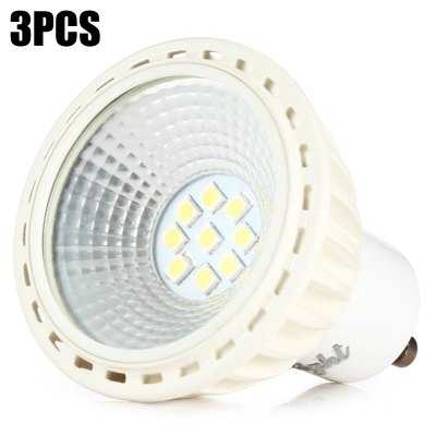 3 x YouOKLight 5W 450Lm GU10 9 SMD2835 LED Spot Bulb