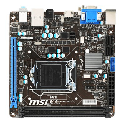 MSI H81I ITX Motherboard