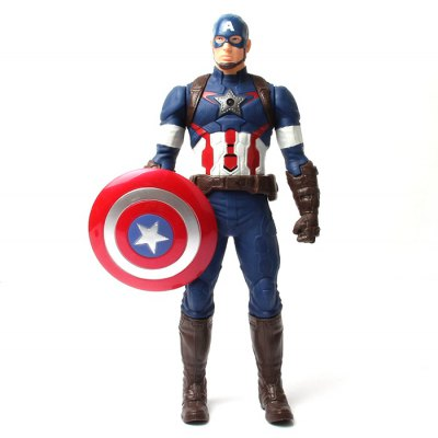 PVC Hero Action Figure Anime Character Model Home Office Decor - 11.5 inch
