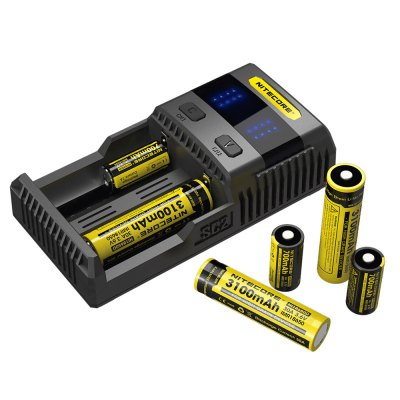 Nitecore SC2 3A Quick Charge Intelligent Battery Charger