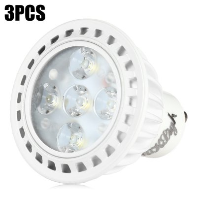 3 x YouOKLight 5W 330Lm GU10 5 SMD2835 LED Spot Bulb