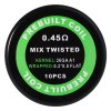best Prebuilt Kanthal A1 Mix Twisted Coil