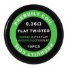 best Prebuilt Kanthal A1 Flat Twisted Coil