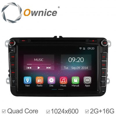 Ownice C200-OL-8901B Android 4.4.2 8.0 inch Car GPS DVD Multi-Media Player for Volkswagen