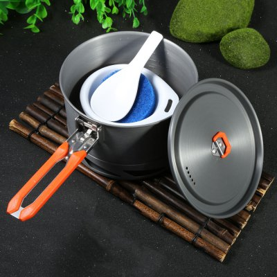 Fire-Maple SYK2 1.5L Heat-collection Pot Six-piece Set