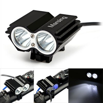 Marsing X2 2000Lm Cree XML T6 LED Bicycle Light Set