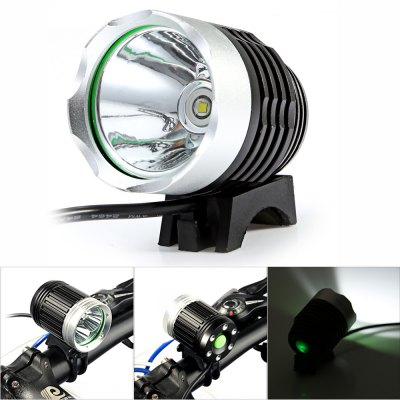 Marsing MS - 01 700Lm Cree XML T6 LED White Bicycle Light SetBike Lights<br>Marsing MS - 01 700Lm Cree XML T6 LED White Bicycle Light Set<br><br>Best Use: Backpacking,Camping,Climbing,Hiking<br>Brand: Marsing<br>Color: Black<br>Features: Superbright, Easy to Install<br>LED Quantity: 1 LED<br>Luminance: 700 - 800lumens<br>Material: Aluminum Alloy<br>Model Number: MS-01<br>Package Contents: 1 x Marsing MS-01 Bicycle Light, 4 x 18650 Lithium Battery, 1 x Battery Bag, 2 x Rubber Ring, 1 x Power Adapter<br>Package Dimension: 23.00 x 8.50 x 8.50 cm / 9.06 x 3.35 x 3.35 inches<br>Placement: Handlebar<br>Product Dimension: 6.50 x 4.10 x 4.10 cm / 2.56 x 1.61 x 1.61 inches<br>Product weight: 0.0920 kg<br>Suitable for: Electric Bicycle, Motorcycle, Mountain Bicycle, Road Bike, Touring Bicycle, Fixed Gear Bicycle<br>Type: Front Light<br>Working Time: 4 - 5 hours