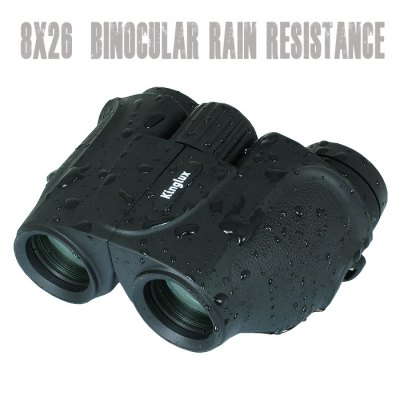 Kinglux BWT5558 8 x 26 Porro BAK - 4 Prism HD BinocularsBinoculars and Telescopes<br>Kinglux BWT5558 8 x 26 Porro BAK - 4 Prism HD Binoculars<br><br>Amplification Factor: 8X<br>Brand: Kinglux<br>Color: Black<br>Features: Anti-slip, Adjustable focus, Waterproof<br>Field Angle(degree): 52 degrees<br>Field of view: 113m / 1000m<br>Focusing System: Center Focus<br>For: Horse racing, Beach, Bird watching, Boating/Yachting, Theater, Sports, Outdoor activities, Hunting, Travel<br>Objective Lens (mm) : 26 mm<br>Optical Material: BAK-4<br>Package Contents: 1 x Kinglux BWT5558 Binocular, 1 x Storage Bag, 1 x Lens Cloth, 1 x Chinese User Manual<br>Package size (L x W x H): 21.00 x 11.00 x 14.00 cm / 8.27 x 4.33 x 5.51 inches<br>Package weight: 0.580 kg<br>Prism System: Porro System<br>Product size (L x W x H): 12.00 x 6.00 x 9.80 cm / 4.72 x 2.36 x 3.86 inches<br>Product weight: 0.310 kg<br>Type: Binoculars