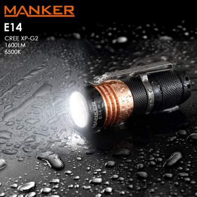 Manker E14 LED Flashlight