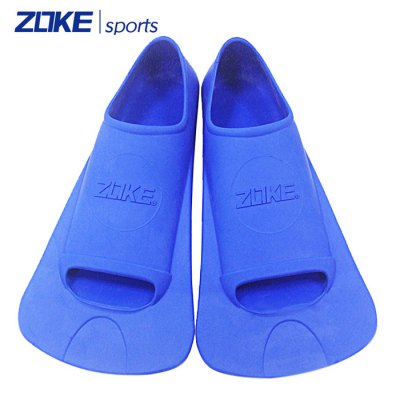 ZOKE Silicone Short Swimming Fins for Adults