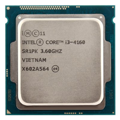 Intel Core-i3-4160 Dual-core CPU