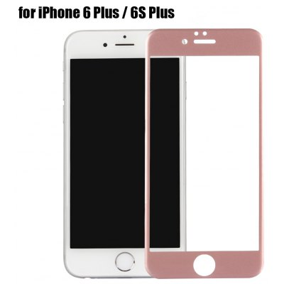 Carbon Fiber Tempered Glass Protective Screen Film for iPhone 6 Plus   6S Plus
