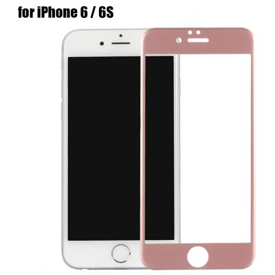 Carbon Fiber Tempered Glass Protective Screen Film for iPhone 6 / 6S