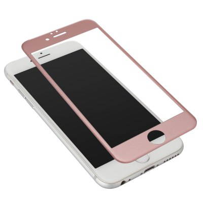 Carbon Fiber Tempered Glass Screen Film for iPhone 6 / 6S