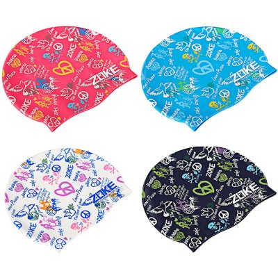 ZOKE Unisex Graffiti Pattern Waterproof Swimming HatSwimming<br>ZOKE Unisex Graffiti Pattern Waterproof Swimming Hat<br><br>Color: Dark blue,Lake blue,Red,White<br>Gender: Unisex<br>Material: Silicone<br>Package Contents: 1 x ZOKE Swimming Hat<br>Package size (L x W x H): 25.00 x 14.00 x 2.00 cm / 9.84 x 5.51 x 0.79 inches<br>Package weight: 0.250 kg<br>Product weight: 0.200 kg