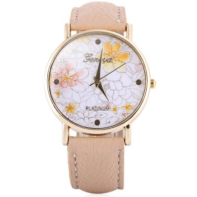 hot-selling-geneva-quartz-flower-watch-analog-indicate-leather-band-for-woman