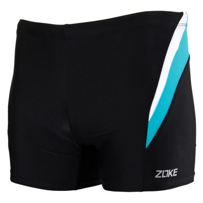 ZOKE Male Elastic Low Waist Swimming Boxers