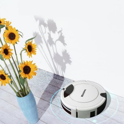 TOCOOL TC - 450 Smart Robotic Vacuum CleanerRobot Vacuum<br>TOCOOL TC - 450 Smart Robotic Vacuum Cleaner<br><br>Battery Capacity: 2200mAh<br>Battery Type: Lithium Battery<br>Brand: TOCOOL<br>Input Voltage (V)  : 24V<br>Package Contents: 1 x Vacuum Cleaner, 1 x Charging Base, 1 x Remote Controller, 1 x Adapter, 2 x Side Brush, 1 x 2025 Button Battery, 1 x Cleaning Brush, 1 x Mop, 1 x English User Manual, 1 x Invisible Wall<br>Package size (L x W x H): 49.80 x 16.00 x 40.00 cm / 19.61 x 6.3 x 15.75 inches<br>Package weight: 4.8400 kg<br>Power (W): 35W<br>Product size (L x W x H): 33.00 x 33.00 x 8.80 cm / 12.99 x 12.99 x 3.46 inches<br>Product weight: 2.8000 kg