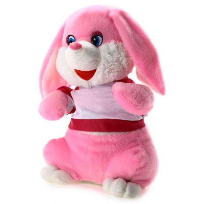 14.5 inch Bunny Style Musical Shaking Head Plush Toy Stuffed Doll Cartoon Product Children Present