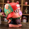 Cute Saving Pot Money Box Glasses Pig Model Toy for Kid Child deal