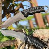 HX OUTDOORS D - 121 Tactical Fixed Blade Straight Knife