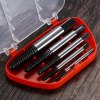 5PCS High Carbon Steel Damaged Screw Extractor 3mm - 19mm Set for sale