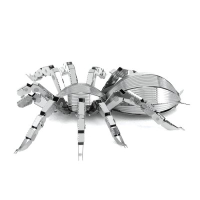 ZOYO Spider Module PuzzleModel &amp; Building Toys<br>ZOYO Spider Module Puzzle<br><br>Age: 14 Years+<br>Applicable gender: Unisex<br>Brand: ZOYO<br>Design Style: Animal<br>Features: DIY, Educational<br>Material: Metal<br>Package Contents: 1 x 3D Metallic Puzzle Board, 1 x User Manual<br>Package size (L x W x H): 18.00 x 12.00 x 2.00 cm / 7.09 x 4.72 x 0.79 inches<br>Package weight: 0.060 kg<br>Product size (L x W x H): 7.00 x 8.60 x 1.80 cm / 2.76 x 3.39 x 0.71 inches<br>Product weight: 0.040 kg<br>Puzzle Style: 3D Puzzle, Jigsaw Puzzle<br>Small Parts : Yes<br>Type: Puzzle Jigsaw<br>Washing: No