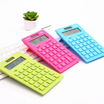 3PCS Deli 1657A Ultra-thin Solar Calculator StationeryOther Supplies<br>3PCS Deli 1657A Ultra-thin Solar Calculator Stationery<br><br>Brand Name: Deli<br>Type: Others<br>Material: ABS<br>Color: Multi-color<br>Product weight: 0.600 kg<br>Package weight: 0.670 kg<br>Product size (L x W x H): 17.80 x 11.00 x 2.00 cm / 7.01 x 4.33 x 0.79 inches<br>Package size (L x W x H): 18.50 x 12.00 x 6.00 cm / 7.28 x 4.72 x 2.36 inches<br>Package Contents: 3 x Deli 1657A Calculator