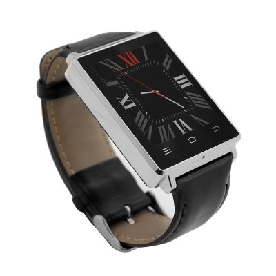 NO.1 D6 3G Smartwatch PhoneSmart Watch Phone<br>NO.1 D6 3G Smartwatch Phone<br><br>Brand: NO.1<br>Type: Watch Phone<br>OS: Android 5.1<br>CPU: MTK6580<br>Cores: 1.3GHz,Quad Core<br>GPU: Mali-400 MP<br>RAM: 1GB<br>ROM: 8GB<br>External Memory: Not Supported<br>Compatible OS: Android,IOS<br>Certificate: CE<br>Wireless Connectivity: 3G,Bluetooth 4.0,GPS,GSM<br>WIFI: 802.11b/g/n wireless internet<br>Network type: GSM+WCDMA<br>Frequency: GSM 850/900/1800/1900MHz WCDMA 850/2100MHz<br>Bluetooth version: V4.0<br>Screen type: IPS<br>Screen size: 1.63 inch<br>Screen resolution: 320 x 320<br>Camera type: No camera<br>SIM Card Slot: Single SIM(Micro SIM slot)<br>Picture format: JPEG,PNG<br>Music format: MP3<br>E-book format: TXT<br>Games: Android APK<br>Languages: Chinese (Traditional), Chinese (simplified), Indonesian, Malay, Czech, Danish, German (German), German, English (UK), Spanish (United States), Filipino, French, Croatian, Italian language, Latvia, Lit<br>Additional Features: 2G,3G,Bluetooth,E-book,MP3,People,Wi-Fi<br>Functions: Facebook,Heart rate measurement,Message,Pedometer<br>Cell Phone: 1<br>Battery: 450mAh Built-in<br>USB Cable: 1<br>English Manual : 1<br>Product size: 5.30 x 3.70 x 1.12 cm / 2.09 x 1.46 x 0.44 inches<br>Package size: 11.00 x 9.00 x 7.80 cm / 4.33 x 3.54 x 3.07 inches<br>Product weight: 0.054 kg<br>Package weight: 0.220 kg