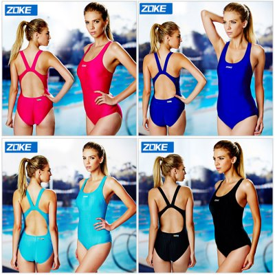 ZOKE Female Pure Color U-neck Jumpsuit SwimwearSwimwear<br>ZOKE Female Pure Color U-neck Jumpsuit Swimwear<br><br>Brand: ZOKE<br>Material: Spandex, Polyester<br>Package Contents: 1 x ZOKE Female Swimwear<br>Package size: 25.00 x 14.00 x 2.00 cm / 9.84 x 5.51 x 0.79 inches<br>Package weight: 0.250 kg<br>Product weight: 0.200 kg<br>Size: L,M,XL,XXL<br>Type: Jumpsuit<br>Waist: Natural