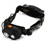 PANGE 180Lm CREE XPE 18650 Rechargeable LED Headlamp
