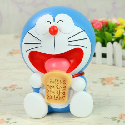 Cute Resin Saving Pot Money Box Cat Cartoon Figure Toy for Home Decoration
